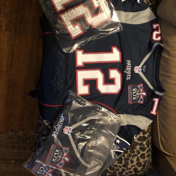 Tom Brady Nike Super Bowl Jerseys